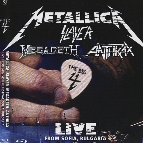 Slayer – The Big 4 Live from Sofia Bulgaria